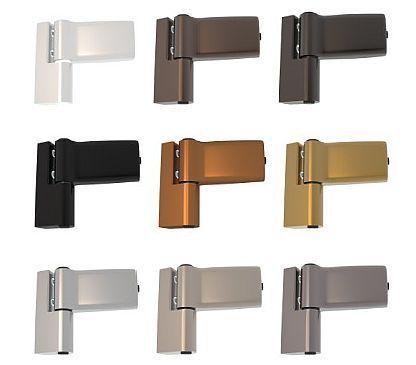 Hervorragend 12/12_Türbänder für PVC und Alu Haustüren und Scharniere MV22